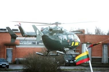 Rusijos pasienyje sraigtasparnis persekiojo pažeidėją