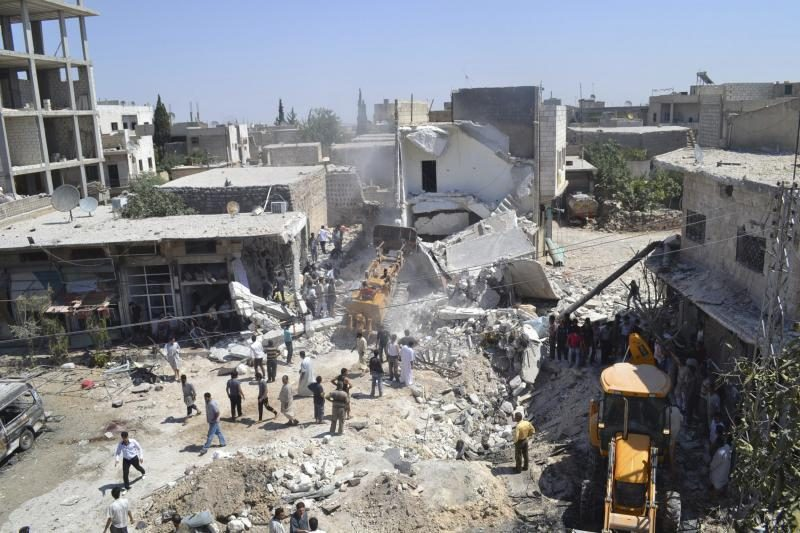 Damasko provincijoje per susirėmimą žuvo 18 Sirijos karių