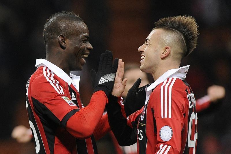 """Preciziškai tikslus M.Balotelli smūgis """"Milan"""" padėjo iškovoti pergalę"""