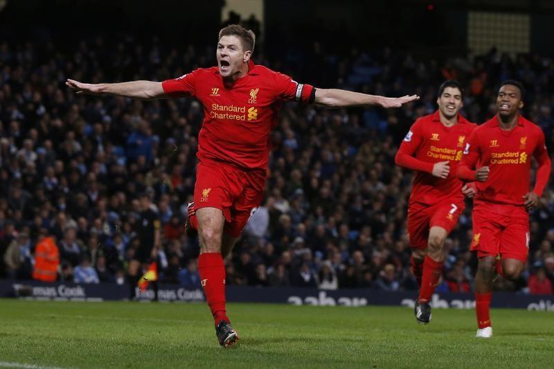 Geriausiu Anglijos futbolininku išrinktas S. Gerrardas
