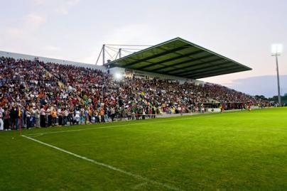 Futbolo funkcionieriams parūpo žiūrovų saugumas