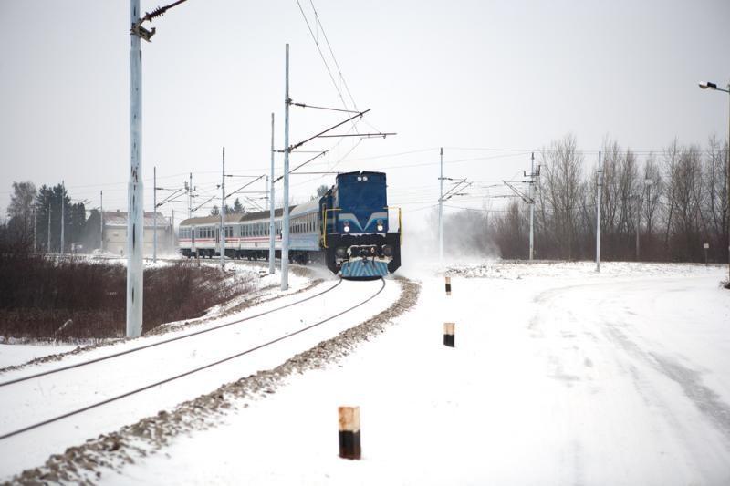 Trakų rajone šilumvežis mirtinai sužalojo ant bėgių gulėjusį vyrą