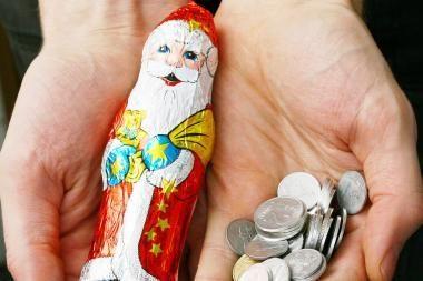 Apklausa: Kalėdų dovanoms dauguma lietuvių išleis iki 50 litų