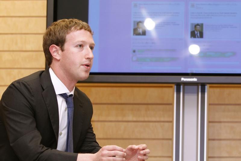Markas Zuckerbergas įvardytas kaip geriausias darbdavys pasaulyje
