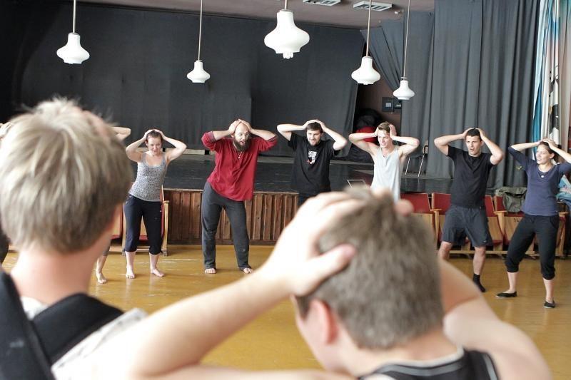 Nepriklausomo teatro akademija subūrė penkių šalių jaunimą