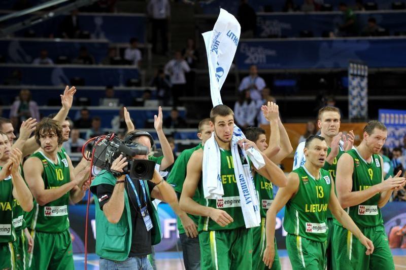 FIBA reitinge Lietuvos komanda bendroje įskaitoje metus baigė šešta
