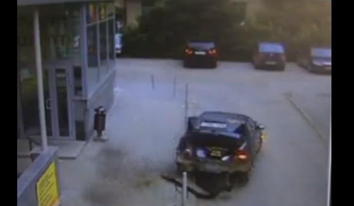 Vaizdo siužete - destruktyviausias Rusijos vairuotojas?