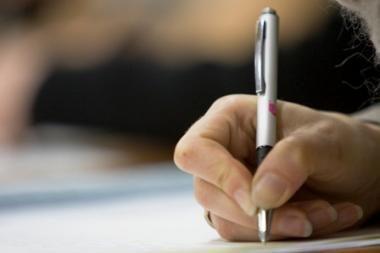 Žmogaus charakterį galima nustatyti iš jo rašysenos