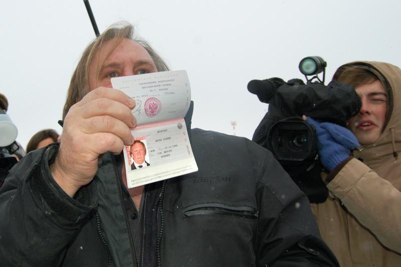 """""""Rusas"""" G. Depardieu stos prieš teismą dėl vairavimo išgėrus"""