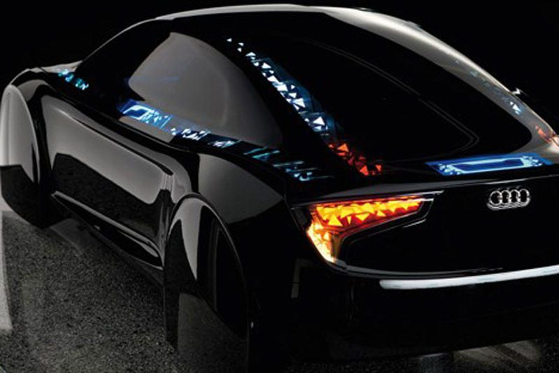 """Audi"" pademonstravo ""Visions OLED"" konceptą"