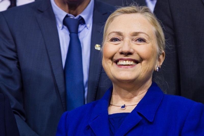 H.Clinton smerkia raketas laidančius palestiniečius