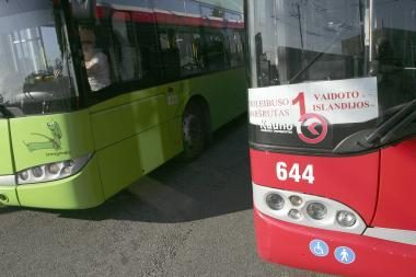 Finansų ministerija siūlo atsisakyti akcizo autobusų naudojamoms gamtinėms dujoms