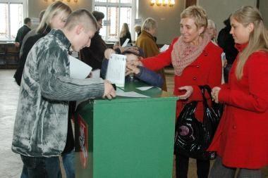 Klaipėdoje daugiausia balsų gavo TS-LKD