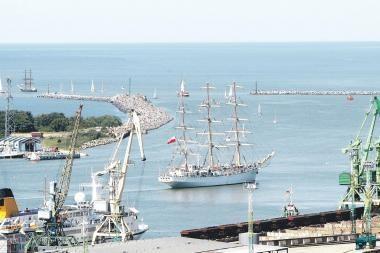 Didžiausi pasaulio burlaiviai į Klaipėdą užsuks jau kitą vasarą