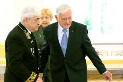 V.Adamkus priėmė Rusijos ambasadorių