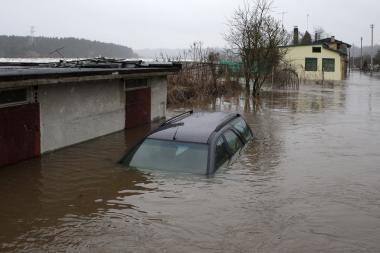 Per pavasario potvynį nukentėję gyventojai dar nesulaukė prašomų 2,1 mln. litų
