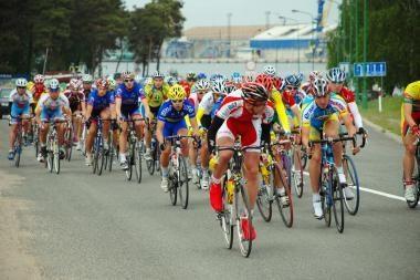 Apvogti dviračių lenktynių dalyviai