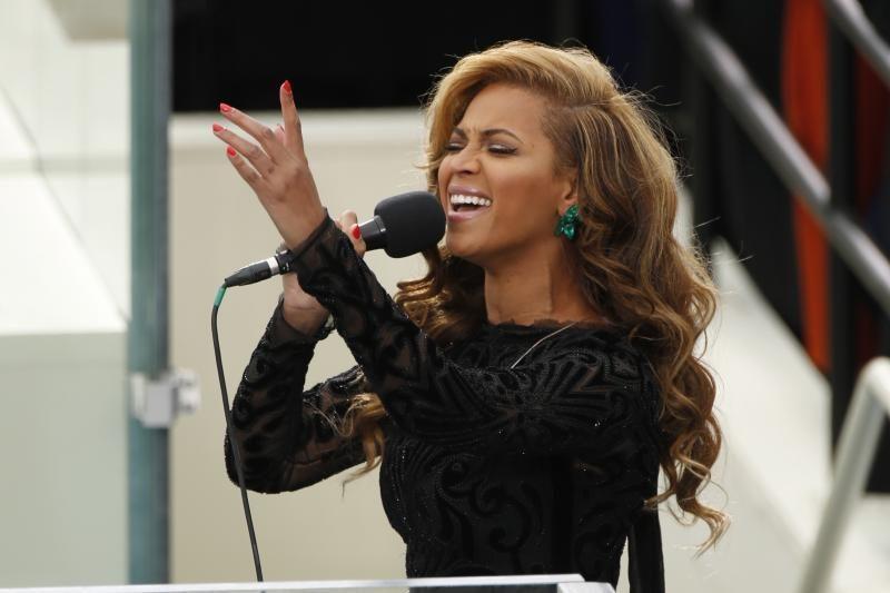 """Beyonce per Obamos inauguraciją """"nedainavo gyvai"""""""