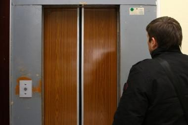Apiplėšimas lifte: auka nuraminta neaiškios kilmės skysčiu