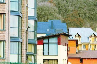 Didmiesčiuose namų kainos per metus smuko penktadaliu