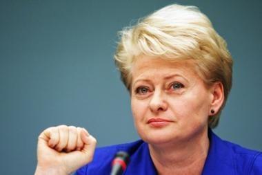 D.Grybauskaitė pageidauja griežtesnių bausmių