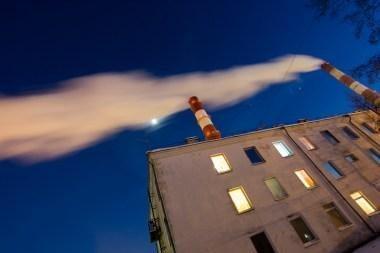 Oro tarša kietosiomis dalelėmis dar labiau išaugo