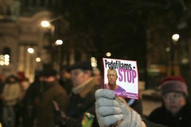 Pirmadienį - dar vienas protestas prieš pedofilus (dar papildyta)