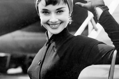 Gražiausia praėjusio šimtmečio moteris - Audrey Hepburn