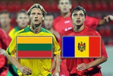 Lietuvos ir Moldovos kova baigėsi lygiosiomis