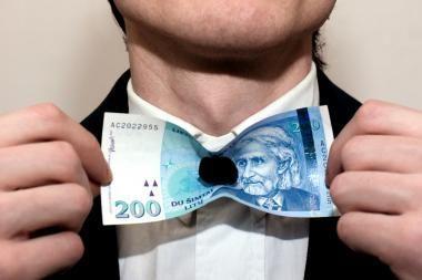 72 proc. Lietuvos gyventojų pinigų taupymui nelieka
