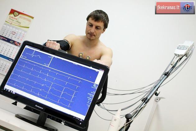 Prieš sezono startą - sveikatos patikrinimo procedūros
