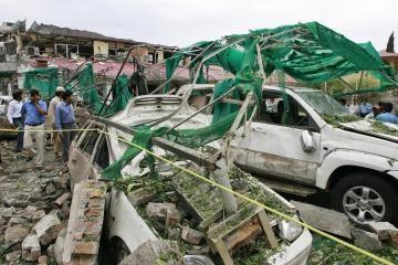"""Išpuolį prieš Danijos ambasadą Pakistane įvykdė """"al Qaeda"""