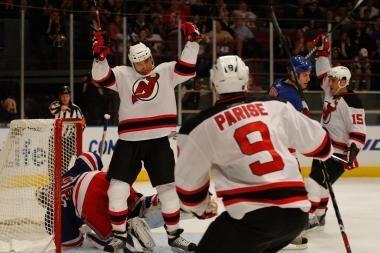 Pirmasis D. Zubraus įvartis šio sezono NHL pirmenybėse
