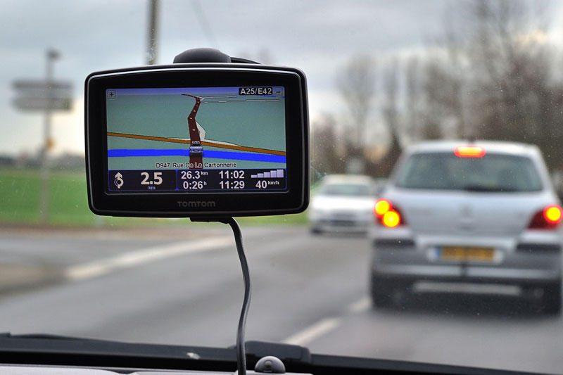 Navigacija gali sumažinti vairuotojų pastabumą kelyje