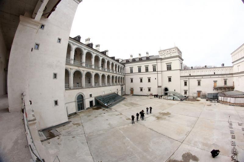 PST pasirašė 61 mln. litų vertės sutartį dėl Valdovų rūmų statybos