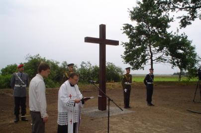 Armaniškių kapines tvarkė vokiečių kariai