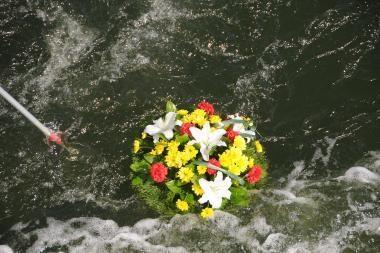 """""""Jūros šventė 2010"""": gėlės bangose – gražiausia šventės tradicija"""