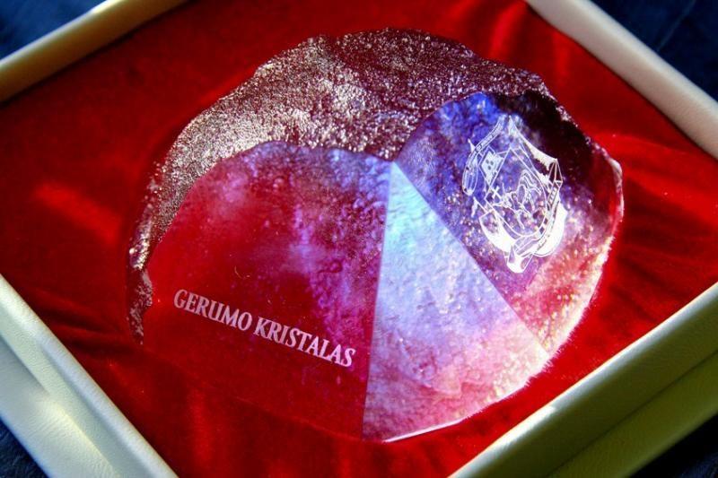 """""""Gerumo kristalais"""
