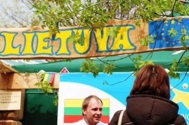Europos dieną - kultūros ir kulinarijos mugė Gedimino pr. (programa)