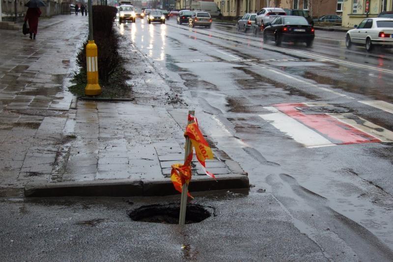 Skaitytoja: smegduobė vairuotojų ir praeivių tyko Minijos gatvėje