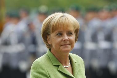Su Vokietijos kanclere D.Grybauskaitė aptars ES priemones krizei įveikti