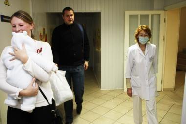 Gripas atakuoja mažuosius klaipėdiečius