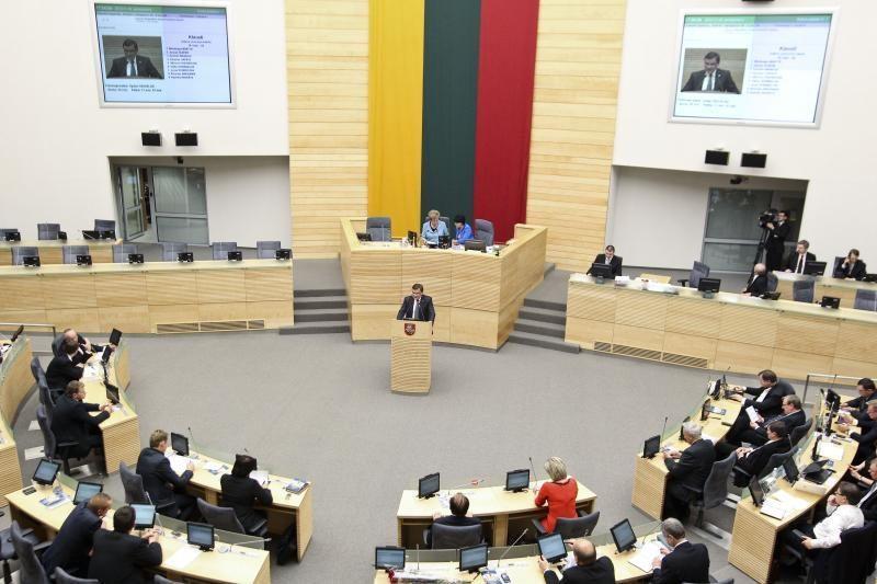 Seimo nariai per ketvirtį parlamentinei veiklai išleido 800 tūkst.
