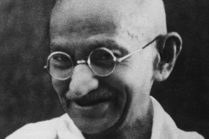 Aukcione – žemė su Mohando Gandhi krauju