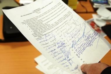 Vilniaus merui J.Imbrasui pareikšta interpeliacija (papildyta)