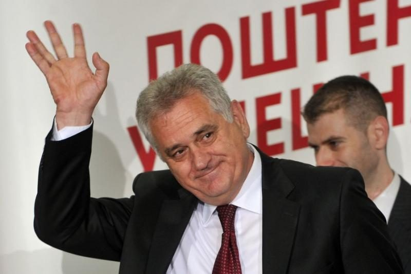 Serbijos opozicija paskelbė pergalę prezidento rinkimuose