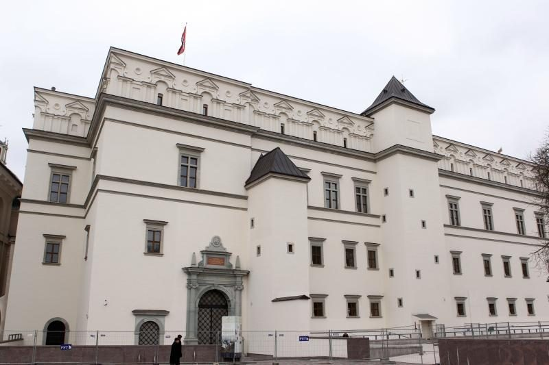 Pilių direkcija perka dalies Valdovų rūmų korpusų statybos darbus