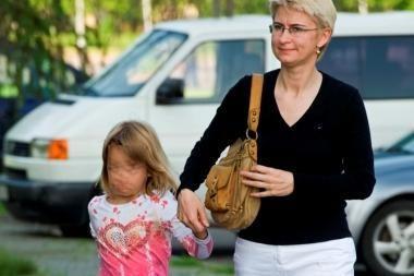 Teismas: pareigūnai privalo saugoti D.Kedžio dukrą