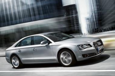 """Jau įvyko """"Audi A8"""" premjera (nuotraukos)"""