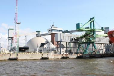 """KLASCO ir """"Linas Agro Group"""" kartu plės  grūdų terminalą"""